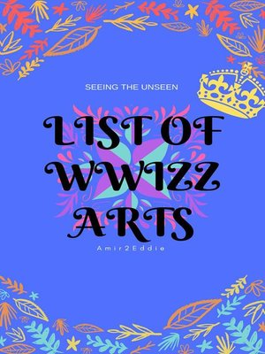 cover image of List of Wwizz Arts